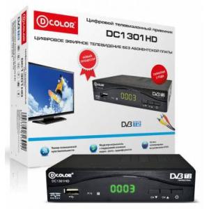 Ресивер DVB-T2 DCOLOR DC1301HD