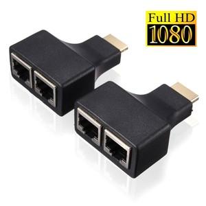 HDMI удлинитель по витой паре ORIENT VE041, до 30м, Full HD