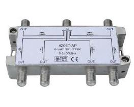 Делитель на 6 выходов, DC, 6-WAY, 5-2050МГц