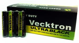 Батарейка солевая Vecktron ААА R03P 1.5V