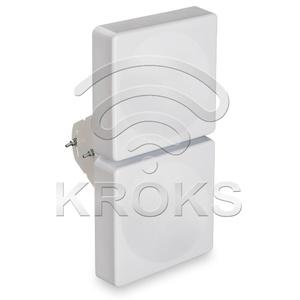 Широкополосная 2G/3G/WiFi/4G MIMO антенна 15 дБ KAA15-750/2900