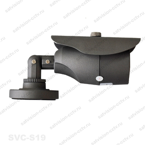 SVC-S19 2.8мм, 1Мп, c OSD, уличная видеокамера AHD.