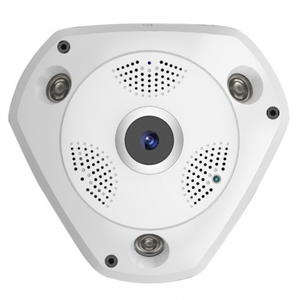 "Wi-Fi IP камера потолочная, Угол обзора 180, линза 1,44 ""рыбий глаз"", VP-CVR360."