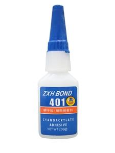 Клей 401, цианоакрилатный, для материалов, трудно поддающихся склеиванию.