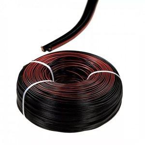 Кабель акустический ШВПТ 2*0,2 Сu красно-черный (провод медный)