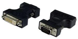 Переходник VGA-DVI (гн.-шт.), золото, Сигнал
