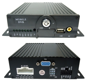 AHD Видеорегистратор для автомобиля AV-37 (4 канала 720P, 2*SD)