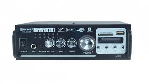 Усилитель звука WVNGR WG-806BT (2х40Вт, USB, SD, bluetooth, MIC)
