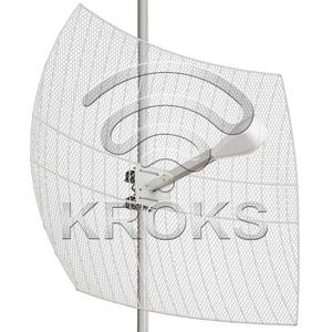Направленная параболическая 3G/WiFi/4G MIMO антенна 27дБ