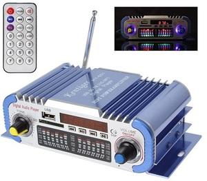 Усилитель звука HY601 (2х20Вт, USB, SD, FM)