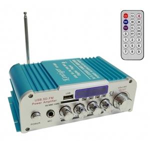 Усилитель звука HY803 (2х20Вт, USB, SD, FM, bluetooth)