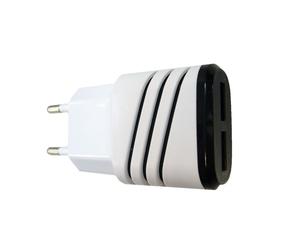 Адаптер питания с 2*USB  (2100mA,5V)