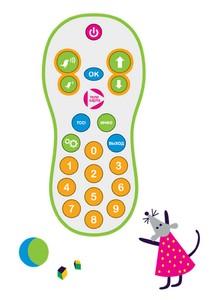 Пульт для ресиверов Телекарта, детский, универсальный, EVO 05;07;08, CHD-04, X8.