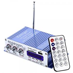 Усилитель звука HY504, 20Вт, FM, MP3, SD.