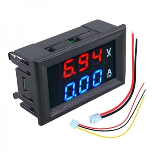 Вольтамперметр DC 0-100B 0-10A