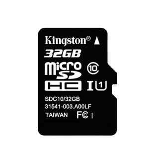 Карта памяти micro SD32Gb Kingston (без адаптера) Class 10