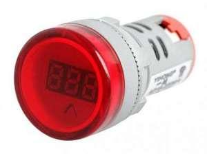 Цифровой вольтметр AC 60V-450V -красный-