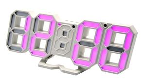 Часы эл. VST883-7 фио.цифры (5В)