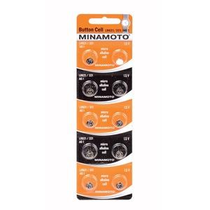 Батарейка AG1 (LR621) MINAMOTO 10/card