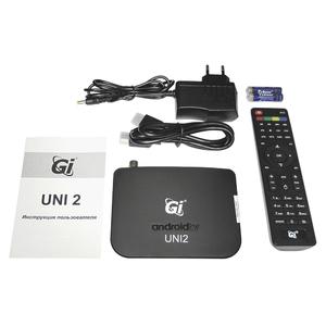 Ресивер GI Uni 2 c DVB-T2 на базе Android 7.1.2
