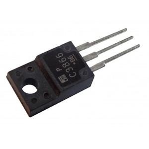Транзистор биполярный 2SC3866 (met) TO220F (NPN; 800V; 3A; 40W)