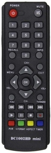 Пульт ДУ для ресивера D-color DC 1002HD mini DVB-T2