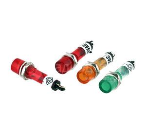Индикатор  7 мм RWE-101 lamp 12V -красный-