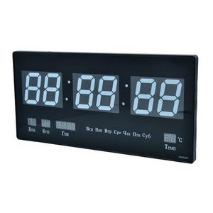 Часы настенные JH-4622Y красные