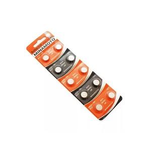 Батарейка AG10 (LR1130) MINAMOTO 10/card