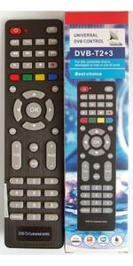 Универсальный пульт DVB-T2+3