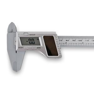 Штангенциркуль 0-150 мм, пластиковый, с солнечной батареей