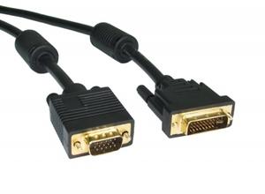 Шнур компьютерный DVI-VGA, 1,5м.