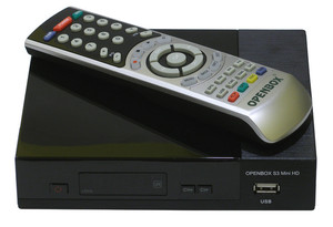 Ресивер DVB-S2 Openbox S3 Mini II HD