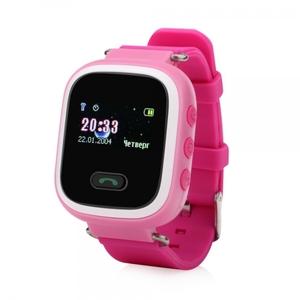 Часы детские с GPS GP-02 (Розовые)