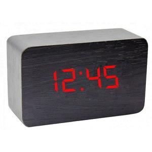 Часы эл. VST863-1 крас.цифры (ЧЁРНЫЕ)