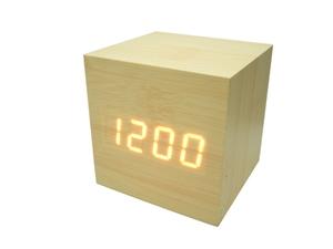 Часы эл. VST869-1 крас.цифры (СВЕТЛО-коричневый)