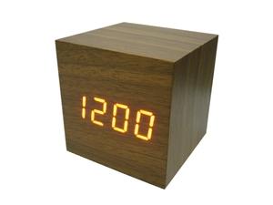 Часы эл. VST869-1 крас.цифры (ТЕМНО-коричневый)