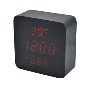Часы эл. VST872S-3 крас.цифры (ЧЕРНЫЕ)