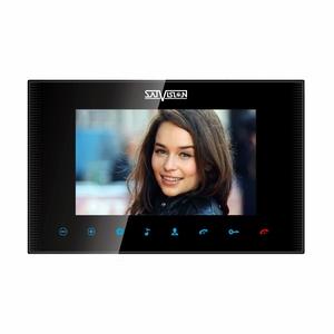 """SVM-1000M (черный) цветной видеодомофон 10"""""""
