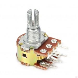 Сдвоенный потенциометр WH148-2 1МОм