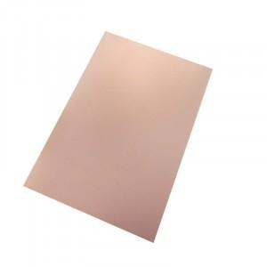 Фольгированный бакелит односторонний 7х10см