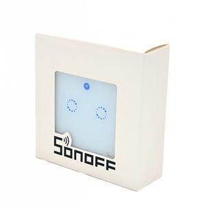 Wi-Fi выключатель на две зоны Sonoff T2