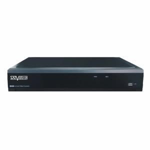 SVR-6115P v.2.0, 16AHD/TVI*5Mpix Lite+8IP*5Mpix, Аудио 4RCA/1RCA, 1HDD до 8Tb, VGA/HDMI