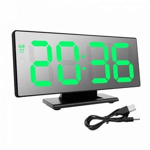 Часы настольные DS-3618L (будильник, температура, дата)
