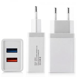Зарядное устройство с USB BS-2071 (5В, 2400mA)