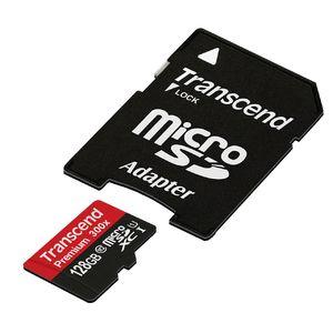 Карта памяти microSDXC UHS-I U3 TRANSCEND 128 ГБ
