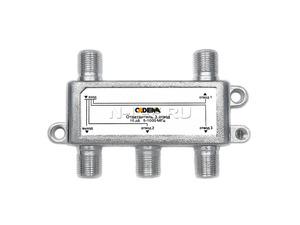 Ответвитель 3 отвода 10 дБ 5-1000 МГц, CADENA