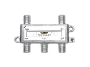 Ответвитель 3 отвода 20дБ 5-1000 МГц T01-3/20