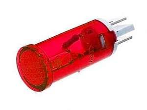 Индикатор D12 RWE-105 (MDX-14) neon 220V -красный-