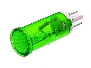 Индикатор D12 RWE-105 (MDX-14) neon 220V -зеленый-